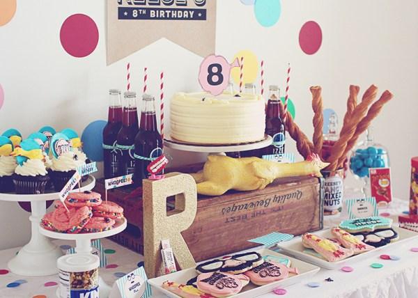 Practical Joke Birthday Party by Three Little Monkeys Studio on Everyday Party Magazine