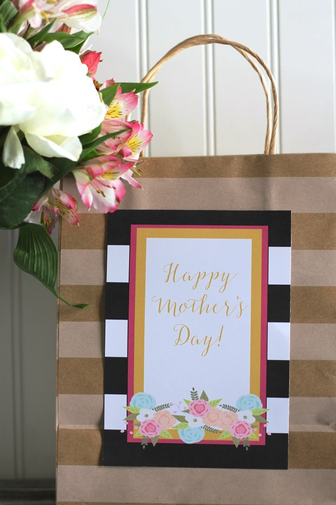 Happy Mother's Day Tags on Everyday Party Magazine
