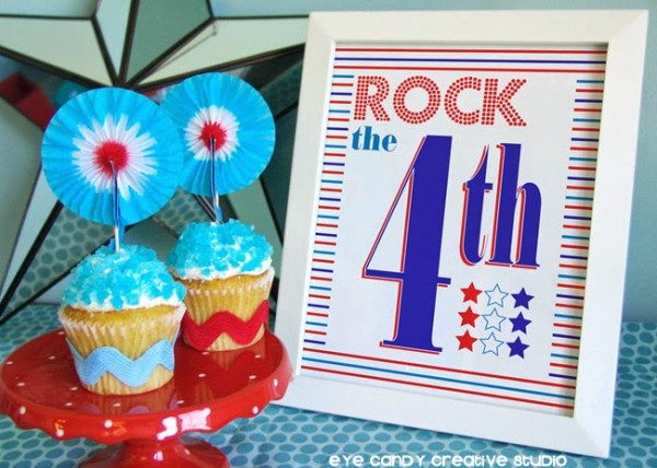 Everyday Party Magazine 4th of July Printable Roundup Eyecandy Creative Studio 4th of July Printables 1
