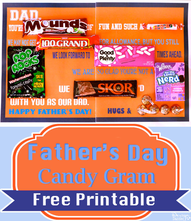 Father's Day Candygram by Design Dazzle on Everyday Party Magazine