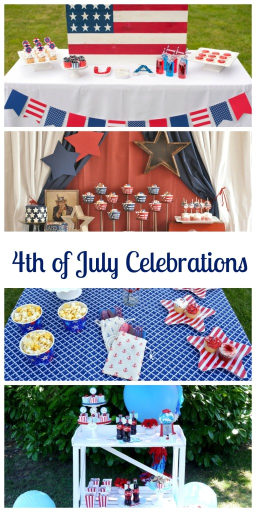 4th of July Celebrations on Everyday Party Magazine