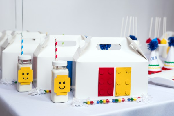 Modern Lego Party by Sweet Georgia Sweet on Everyday Party Magazine