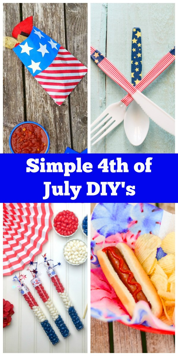 Simple 4th of July DIY's on Everyday Party Magazine