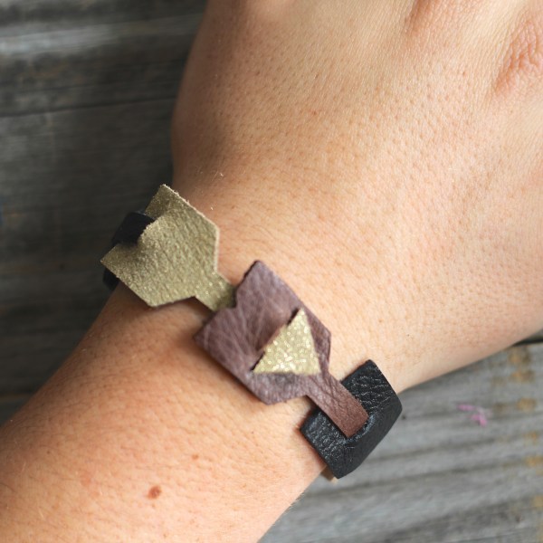 Fun and Easy Bracelet DIY on Everyday Party Magazine for Sizzix