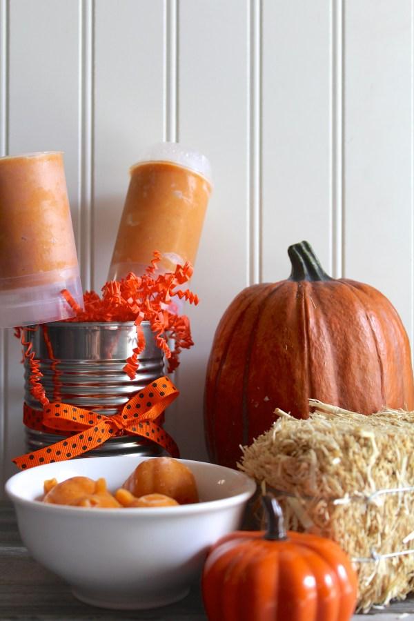 Everyday Party Magazine Creamy Pumpkin Spice Popsicles