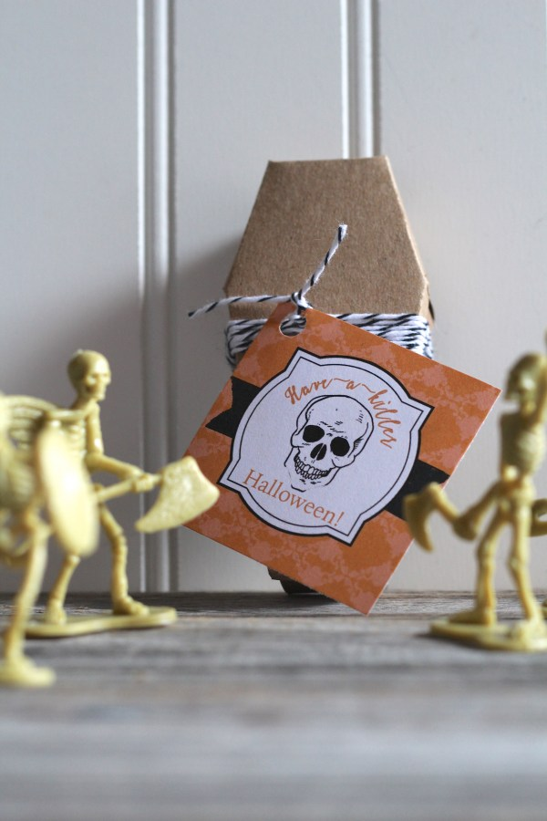 Everyday Party Magazine Have a Killer Halloween Free Printable Tag