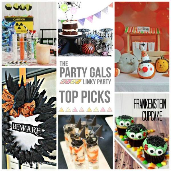 Party Gals Linky Party #8 Halloween Favorites Collage