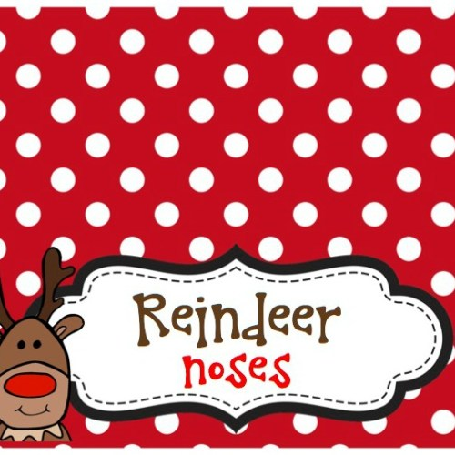 Everyday Party Magazine Party gals Linky Party 12 Christmas Free Reindeer Nose Printable