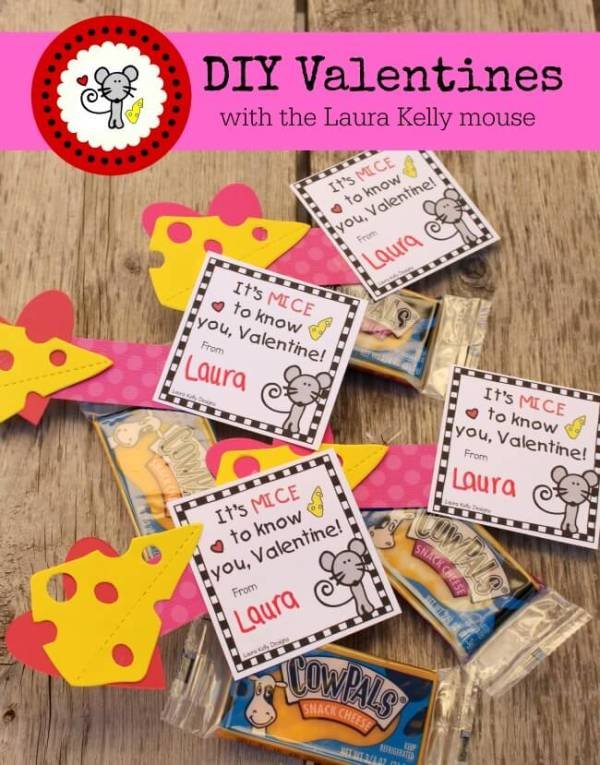 Everyday Party Magazine DIY Valentines with Laura Kelly