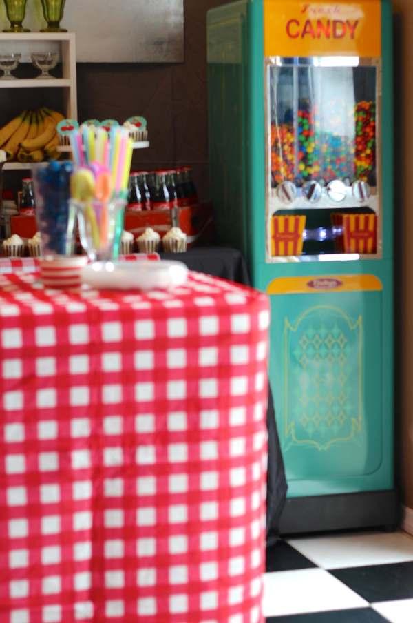 Everyday Party Magazine Simple Checkerboard Floor DIY