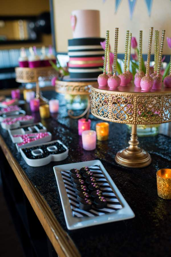 40 and Fabulous Birthday Celebration by Hoopla Events on Everyday Party Magazine