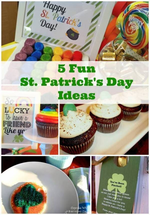 Cupcake Wishes and Birthday Dreams St. Patrick's Day Linky Party