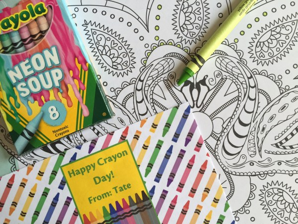 Everyday Party Magazine National Crayon
