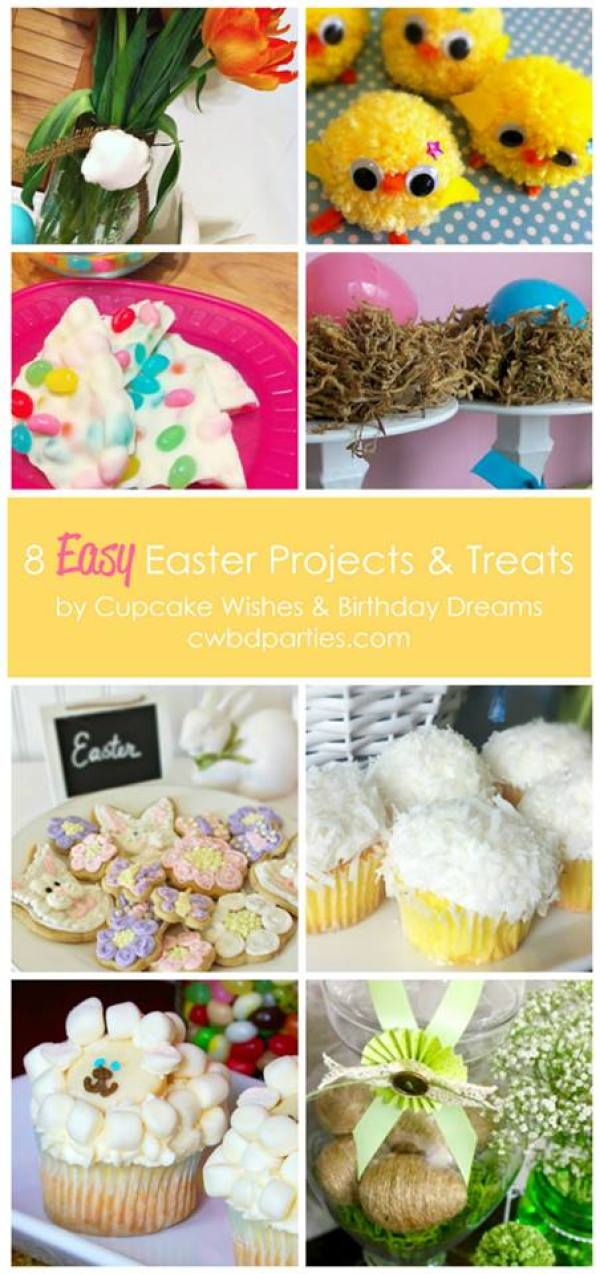Everyday Party Magazine Party Gals Linky Party Easter Cupcake Wishes and Birthday Dreams