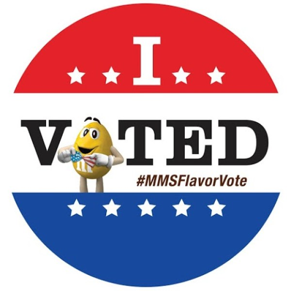 Everyday Party Magazie M&M's® Peanut Flavor Vote and Recipe