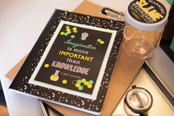 Everyday Party Magazine Science Party by Banner Events