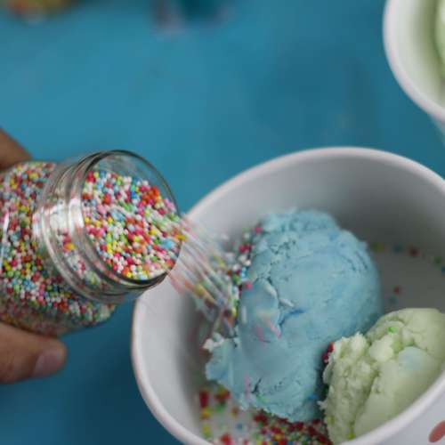 Everyday Party Magazine Ice Cream Play Doh
