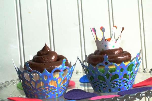 Everyday Party Magazine Salted Chocolate Buttercream Recipe