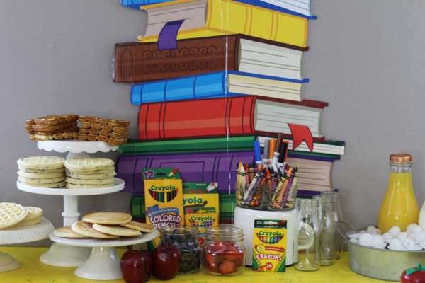Everyday Party Magazine Back to School Breakfast Bar