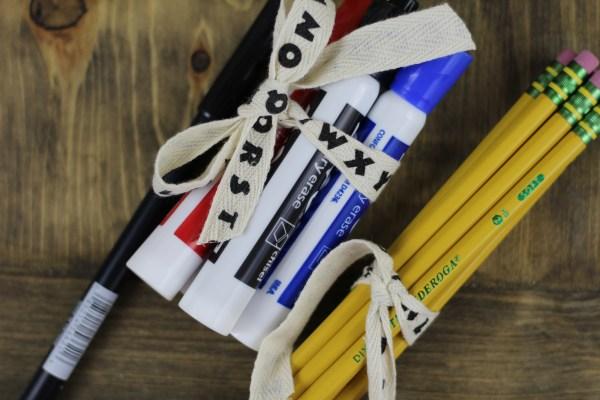 Everyday Party Magazine Back to School Teacher Gift Ideas 2