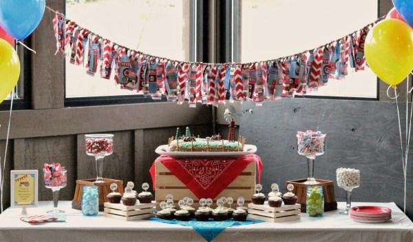 Everyday Party Magazine AK Design Studio Farmall 1st Birthday Party