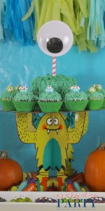 Everyday Party Magazine Build a Monster Birthday Party