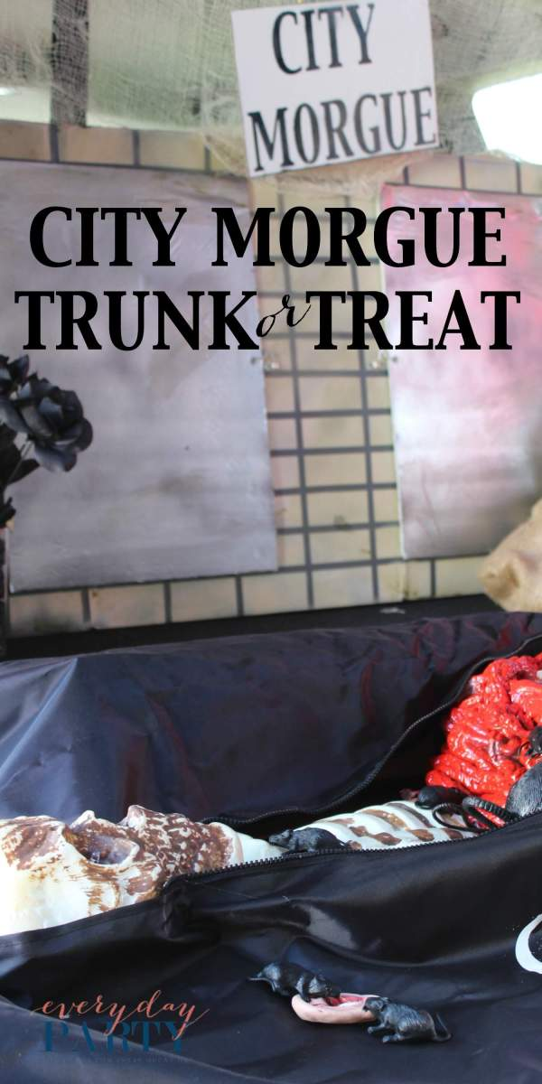 Everyday Party Magazine City Morgue Trunk or Treat