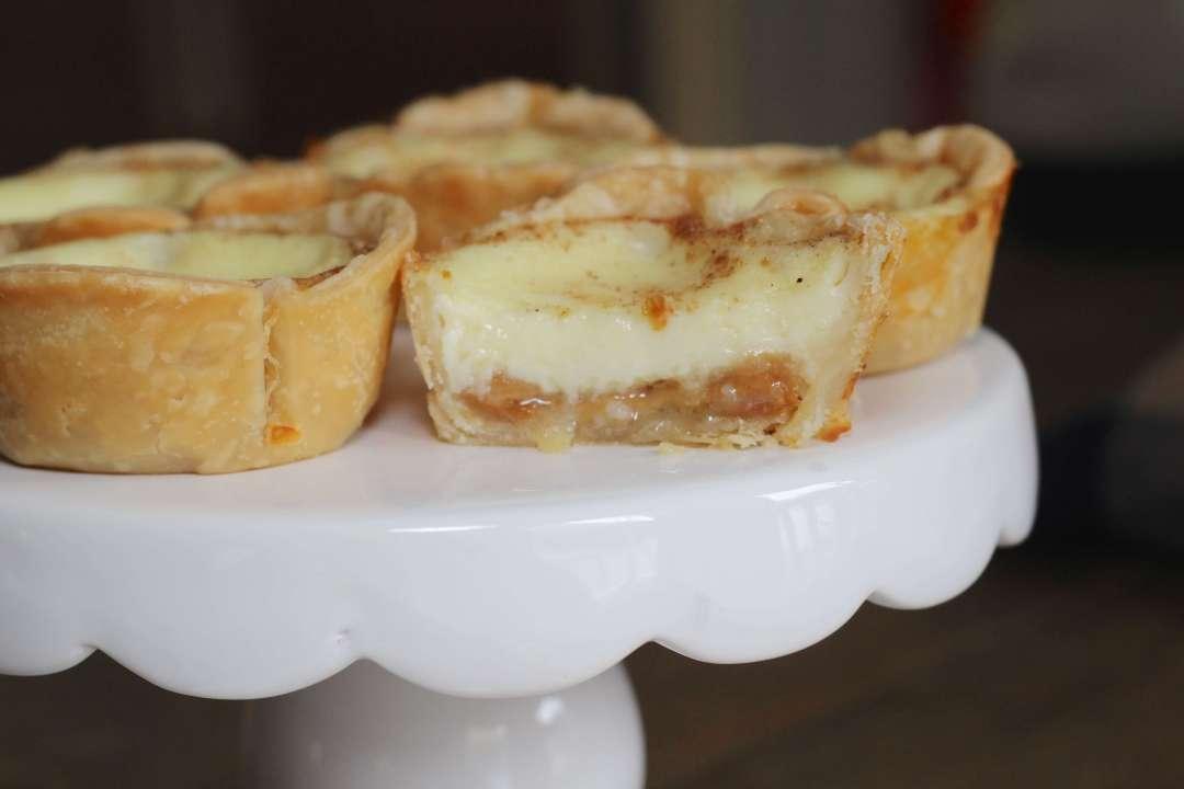 Everyday Party Magazine Caramel Cream Custard Pie Recipe
