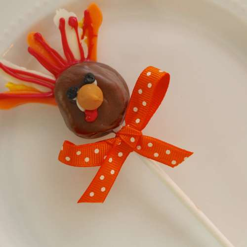 Everyday Party Magazine Caramel Cream Turkey Pops