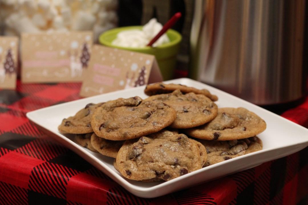 Everyday Party Magazine Caramel Cream Chocolate Chip Cookies