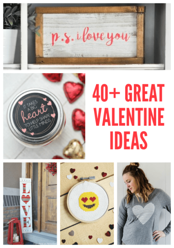 40+ valentine projects