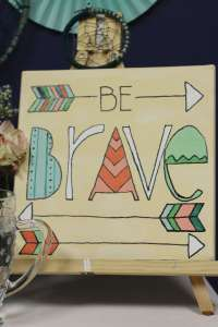 Everyday Party Magazine Be Brave Social Artworking