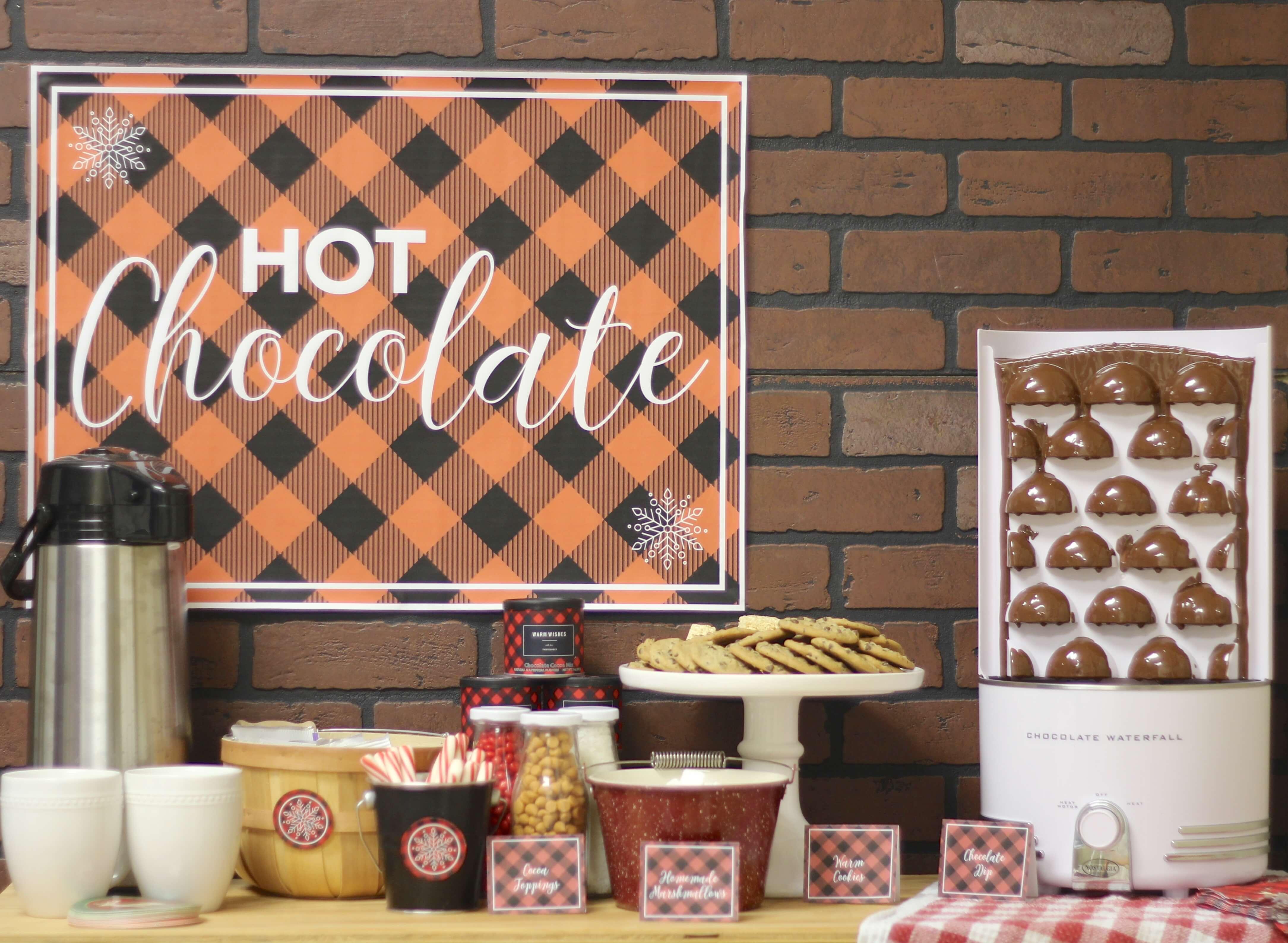 Everyday Party Magazine Hot Cocoa Bar