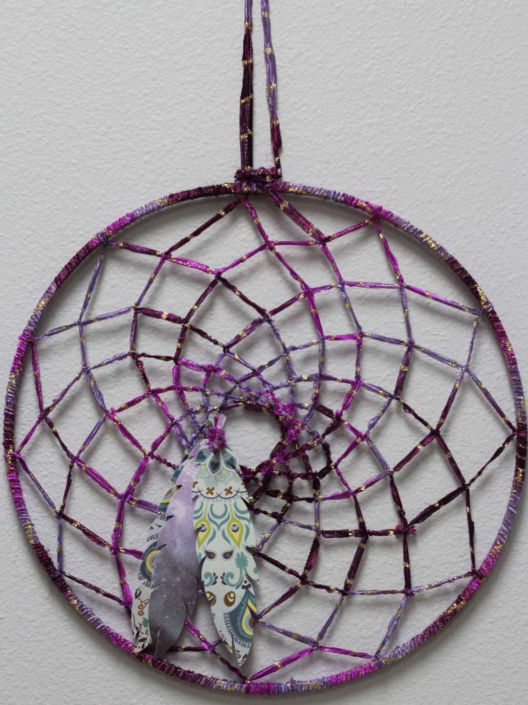 Everyday Party Magazine DIY Dream Catcher Party Backdrop
