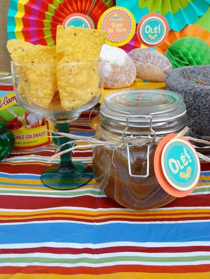 Everyday Party Magazine Salsa Recipe by LAURA'S little PARTY