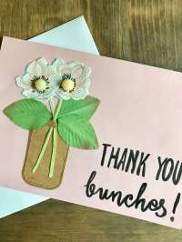 Simple Thank You Card DIY - Everyday Party Magazine