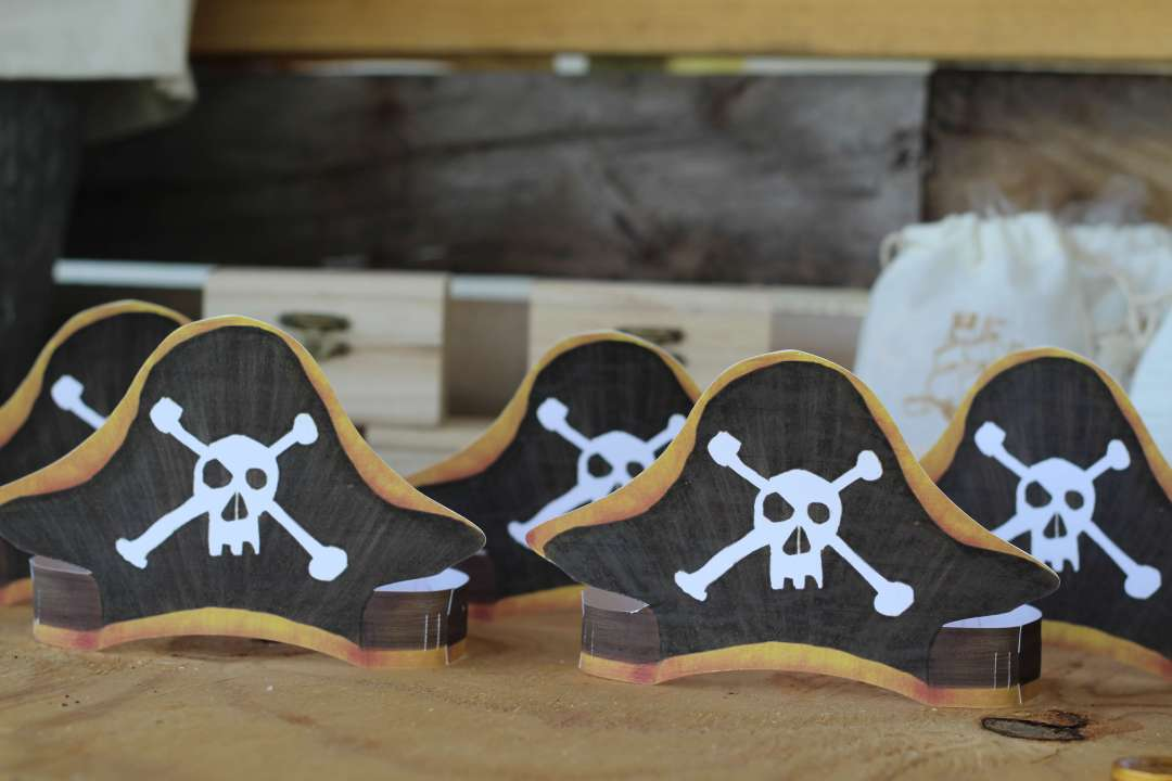 Everyday Party Magazine Pirate Party with Cricut