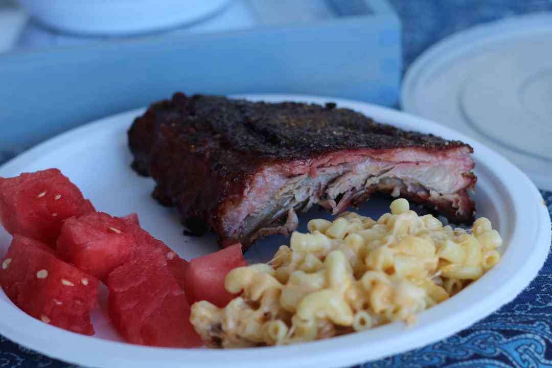 Everyday Party Magazine Simple Grilled BBQ Ribs