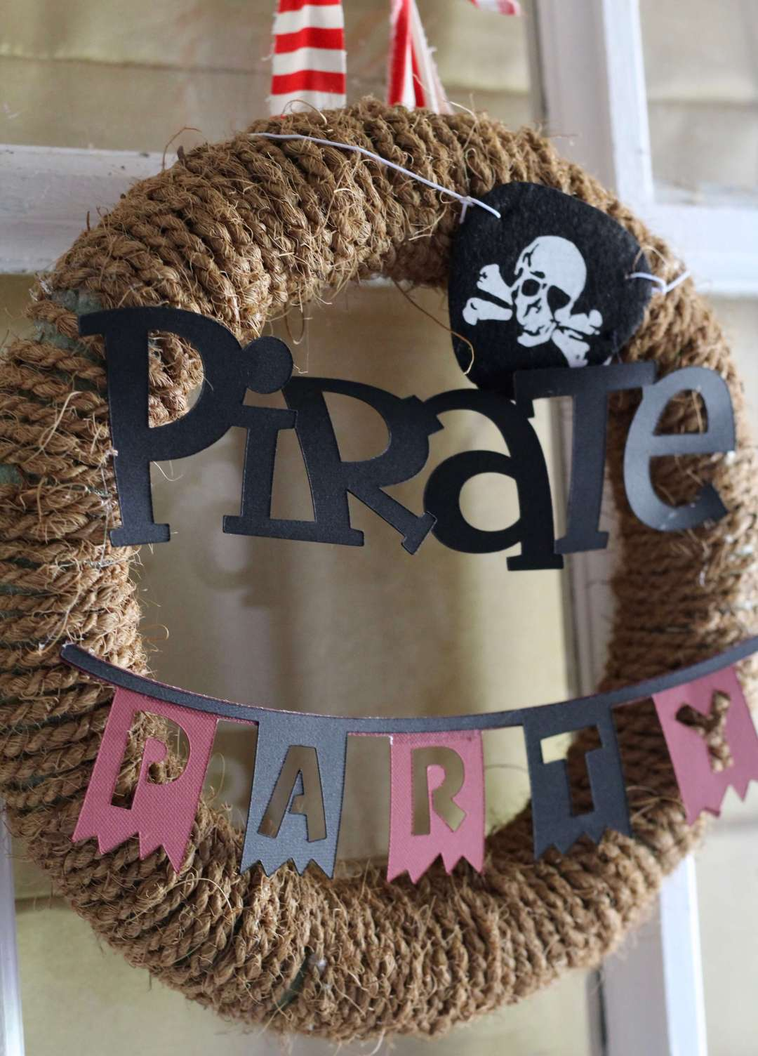 Everyday Party Magazine Simple Pirate Party DIY's with Cricut