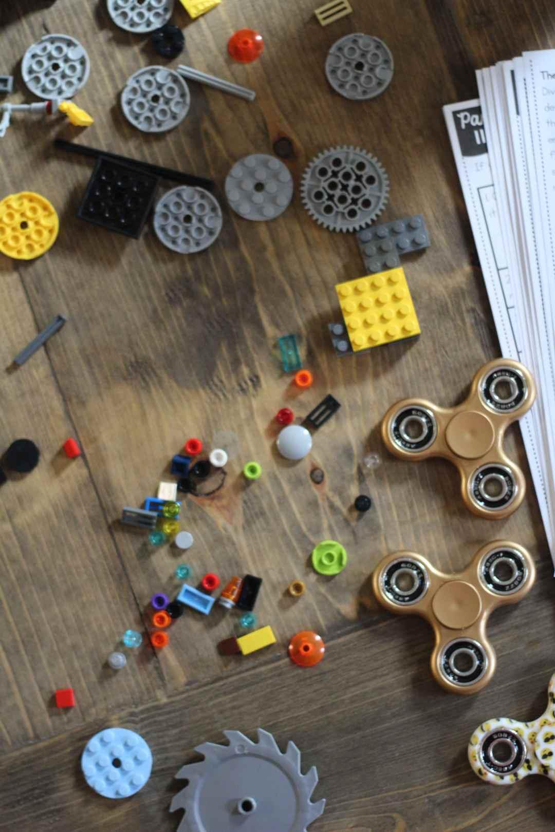 Fidget Spinner, STEM Activities, LEGO, Oriental Trading Company