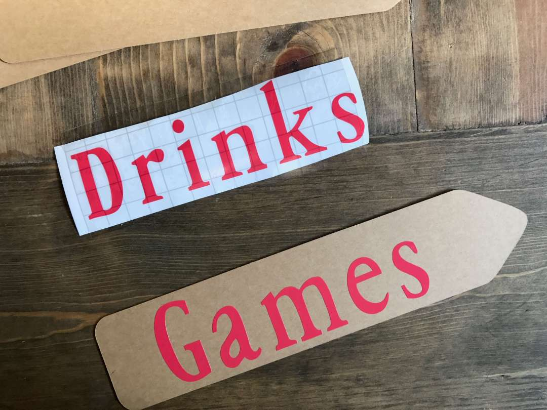 Everyday Party Magazine, Camp Signs, Directional Signs, BBQ Party, DIY