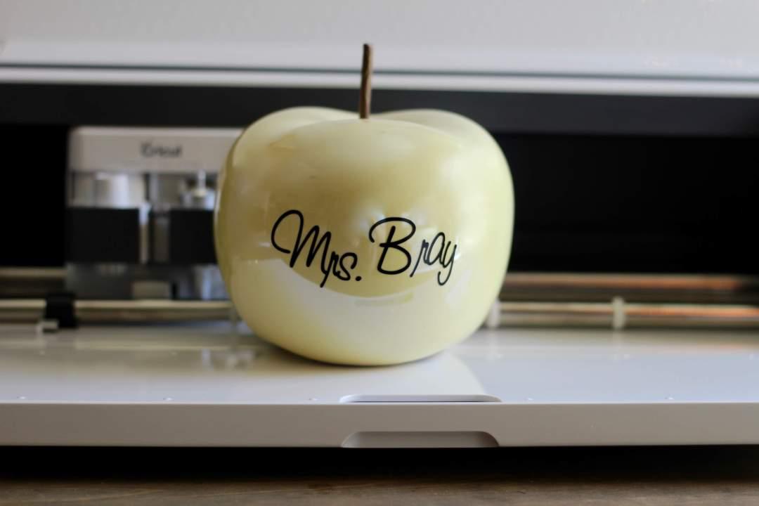 Everyday Party Magazine Simple Teacher's Apple Gift