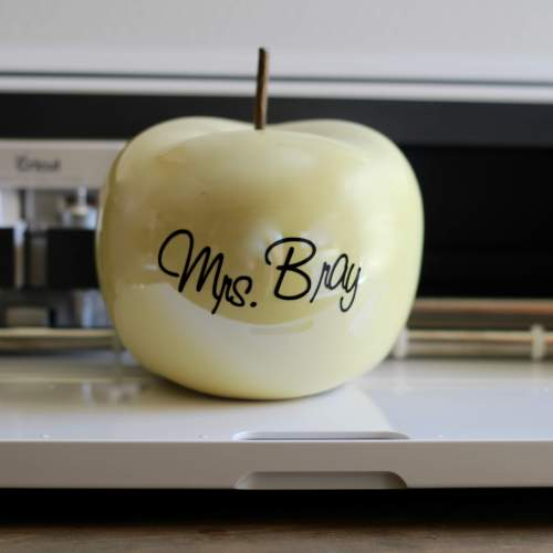 Everyday Party Magazine Simple Teacher's Apple Gift