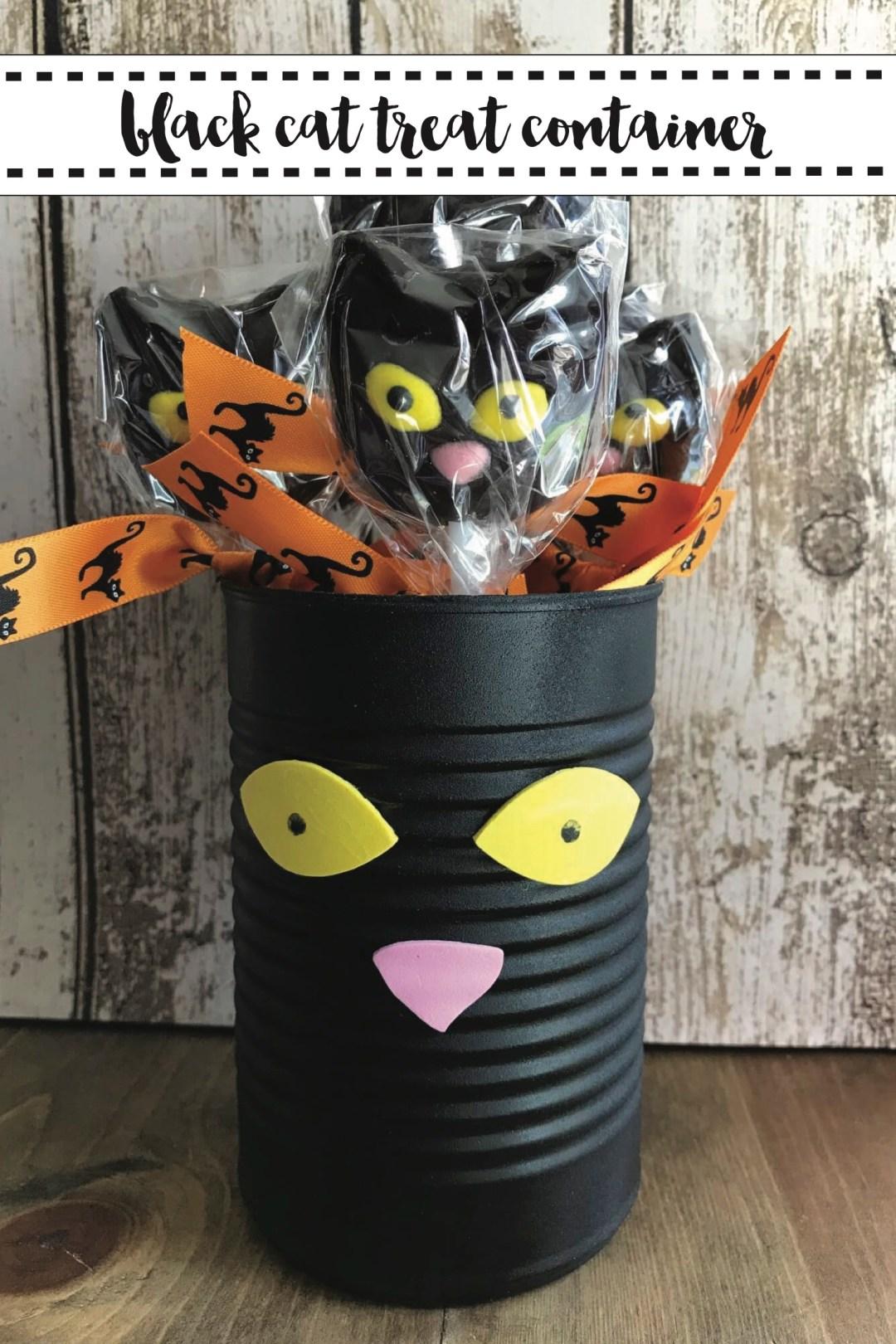 Black Cat Halloween Treats