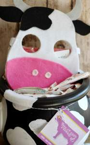 Everyday Party Magazine Boo Bucket - You've Been Moo'd