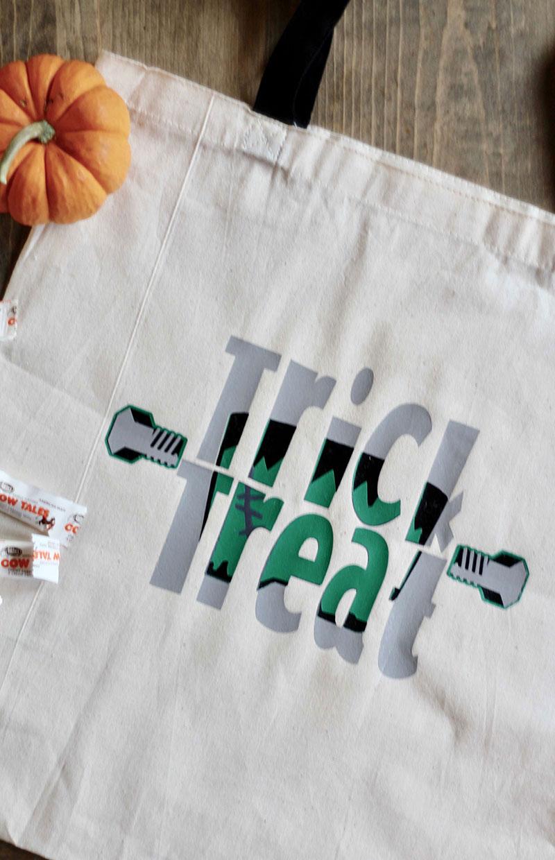Everyday Party Magazine DIY Knockout Halloween Bag