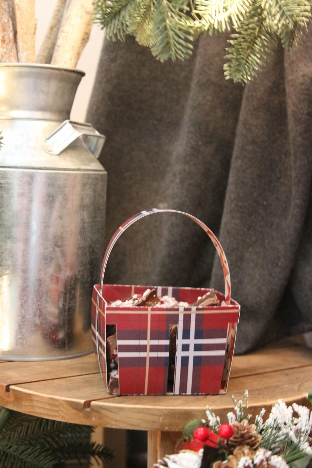 Everyday Party Magazine Holiday Gift Basket DIY