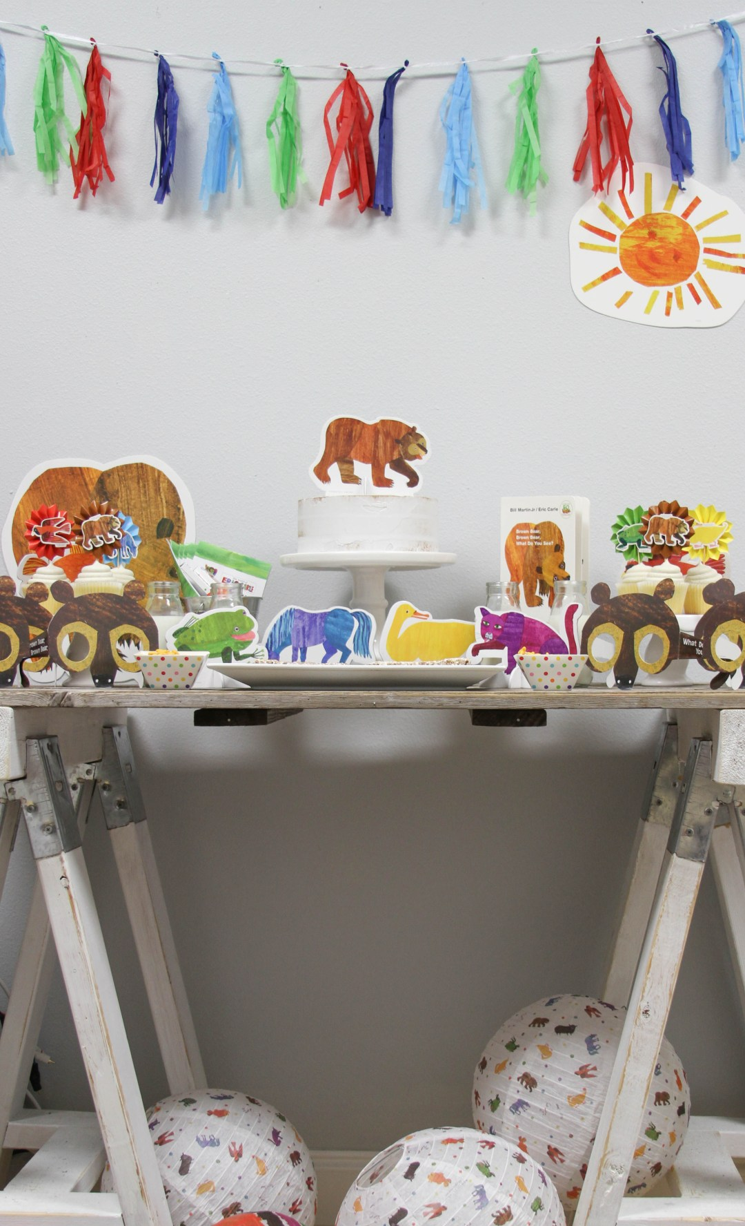 Everyday Party Magazine Brown Bear, Brown Bear Birthday Party