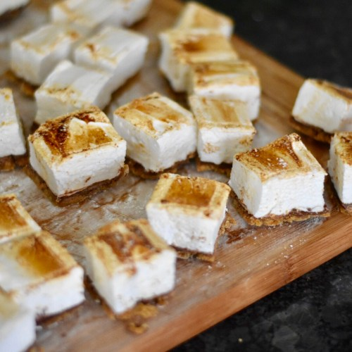 Everyday Party Magazine S'mores Marshmallows