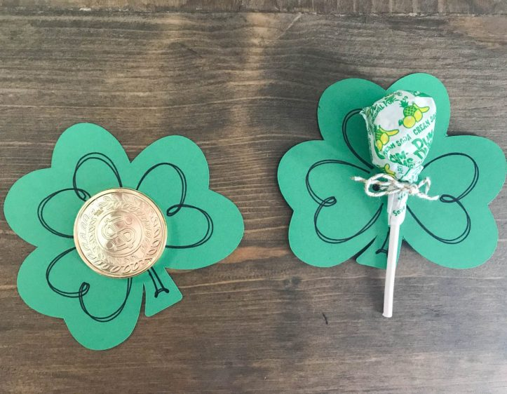 St. Patrick's Day Treats #StPatricksDay #ClassTreat #PartyFavor #DumDumsLollipops
